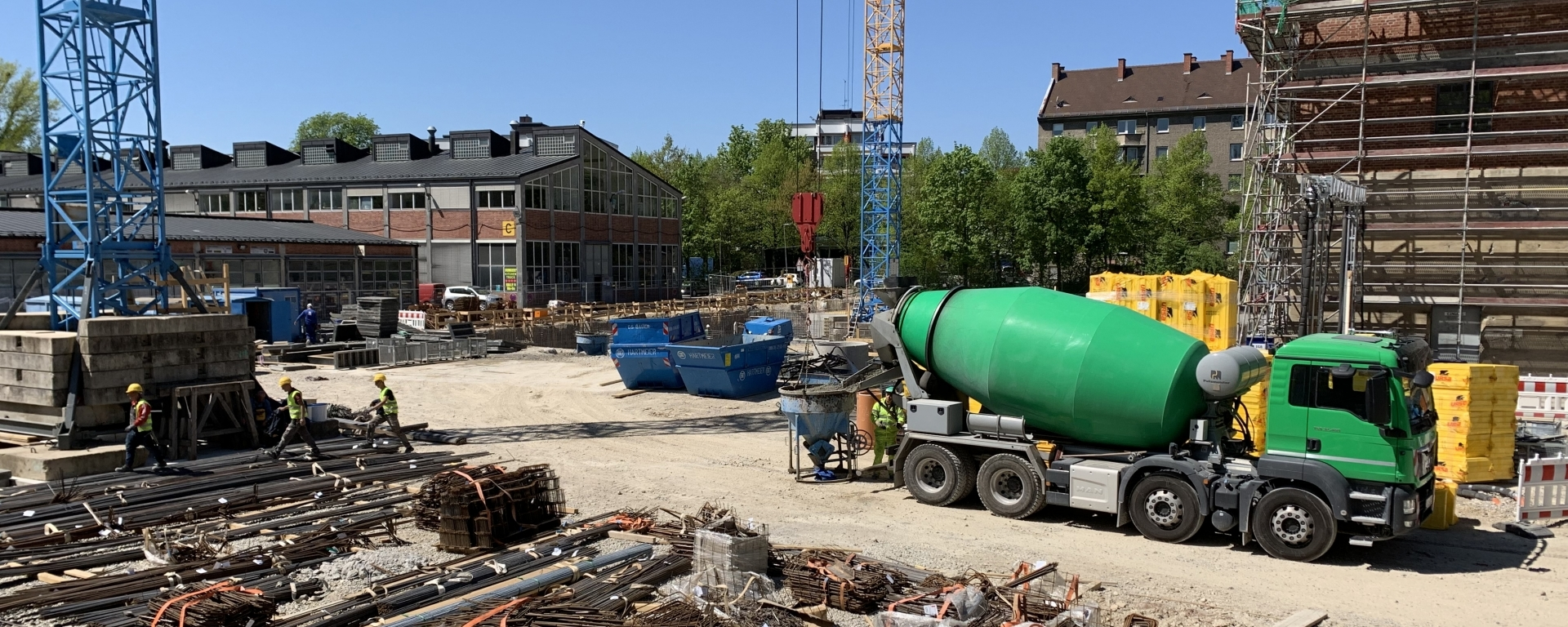 New time-lapse Video of the Gasteig Construction Site