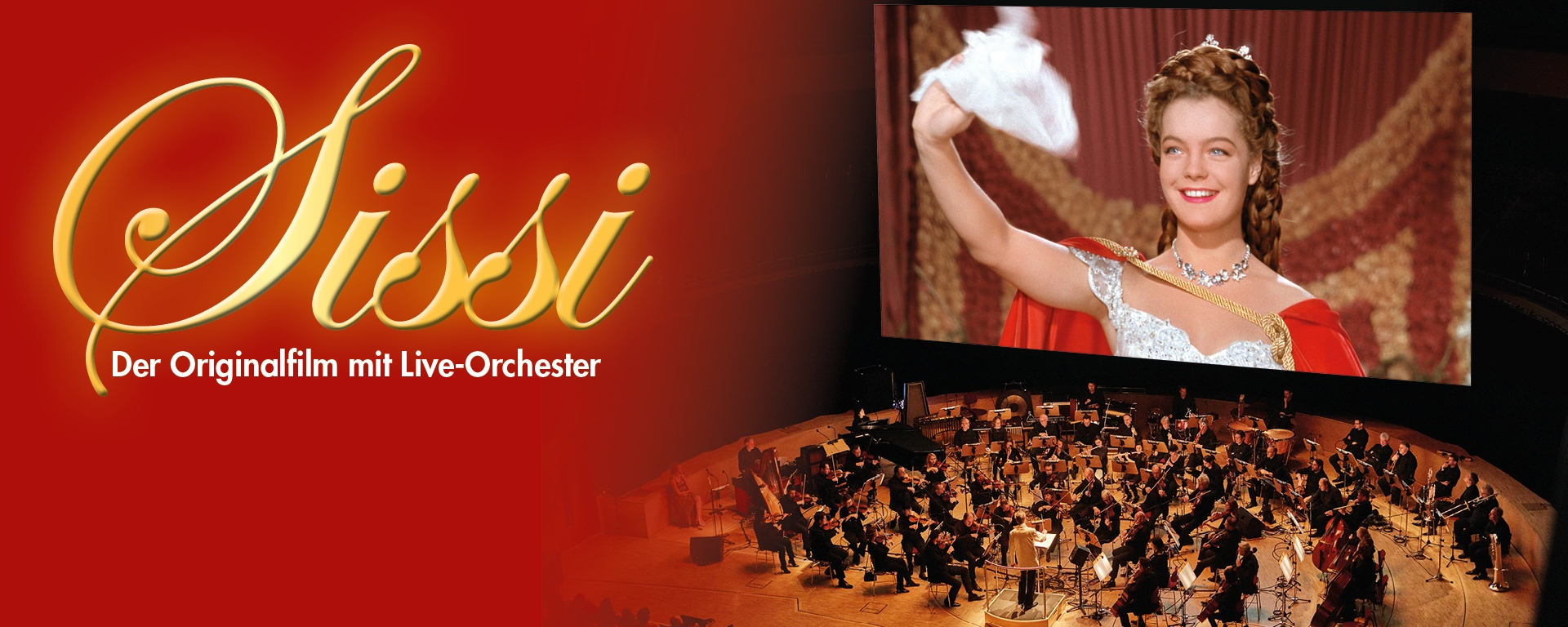 Sissi – The Original Film with Live Orchestra