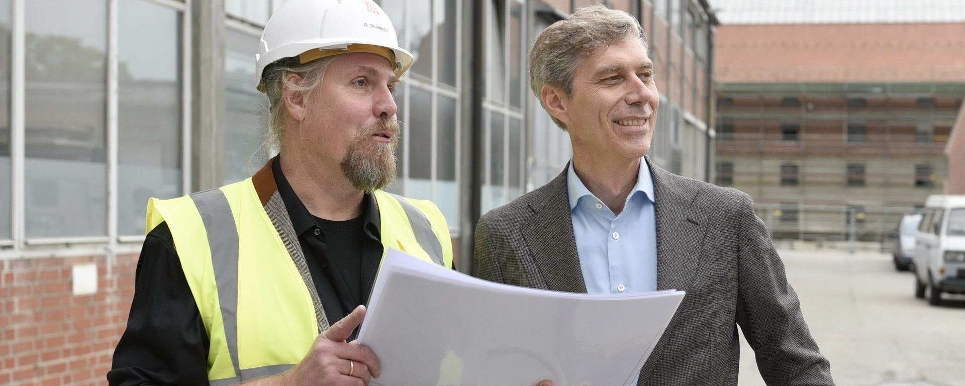 Our man on the Job: Andreas Schmidt is Site Manager at Gasteig Sendling