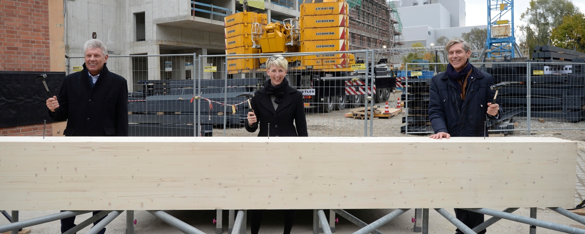 Topping-Out Ceremony at the New Cultural Powerhouse