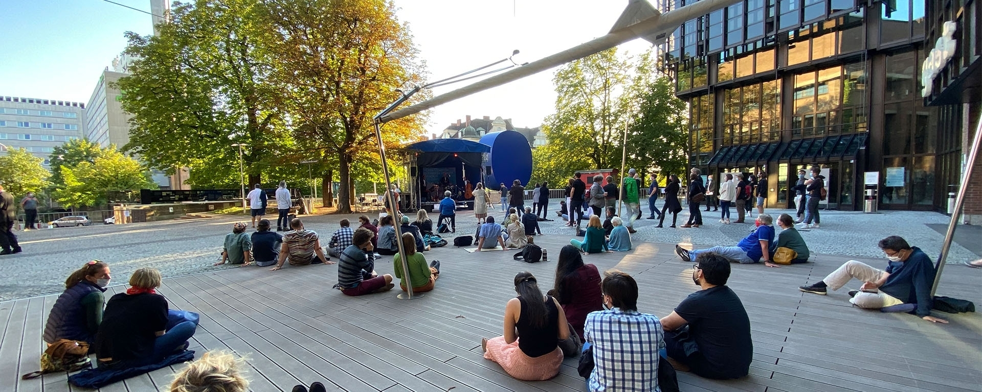 Summer in the City: Free Open-air Programme in Front of the Gasteig