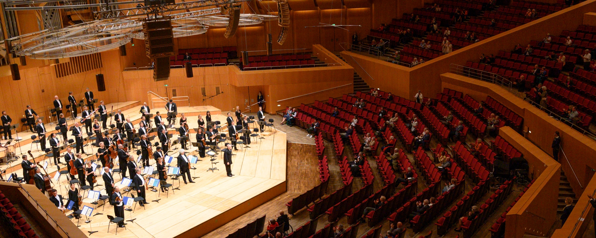 Concerts for 500 to Continue in the Philharmonic Hall